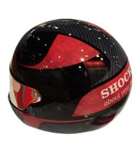 Helmet personalized with Decal Solvent W (PSDECALW)