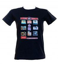 Maglietta colorata personalizzata con FC BLANC