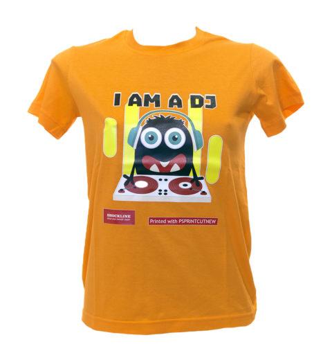 Maglietta colorata personalizzata con PSPRINTCUTNEW
