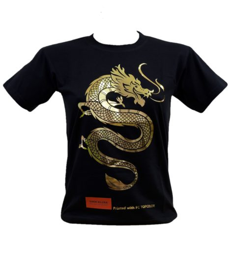 T-shirt nera personalizzata con Topcolor (FC TOPCOLOR)
