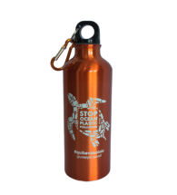 Water bottle personalized with Metal Polart White (FC POLARTWTT)