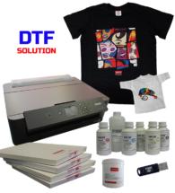 Sistema DTF - kit stampante - ink - film transfer - colla
