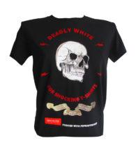 Maglietta nera personalizzata con PSPRINTCUTNEW