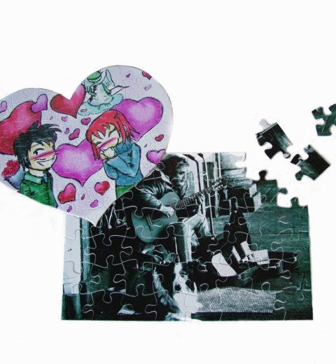 Puzzle in cartone personalizzato con carta transfer puzzle (FC GLOSS)