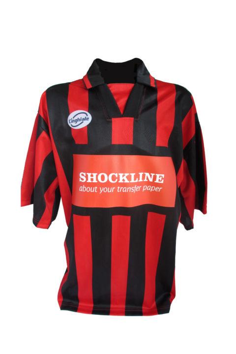 T-shirt sportiva personalizzata con Flex StopSubli (PSSUBLICOLOR)
