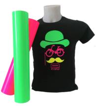 T-shirt Colorata personalizzata con Flex PT70 fluo (PT70FLUO)