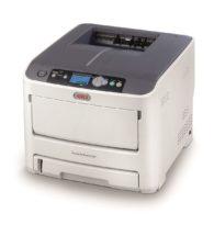 Stampante laser/led OKI A4 con colori neon (Pro6410 NeonColor)