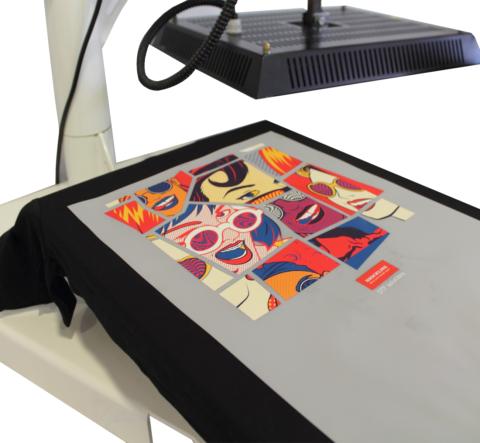 Sistema DTF - film transfer per stampanti inkjet dtf
