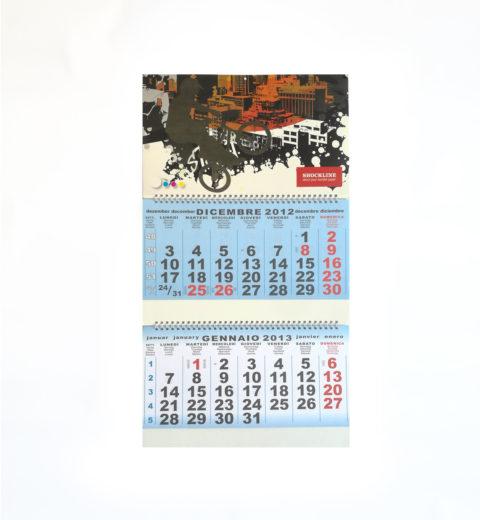 Testata di calendario personalizzata con carta transfer calendar (FC CART1)