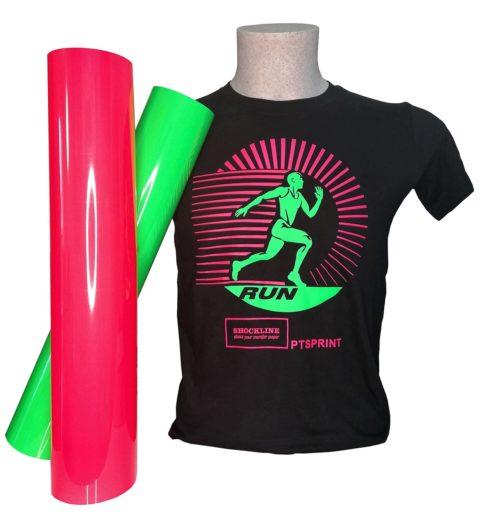 T-shirt Colorata personalizzata con Flex Sprint fluo (PTSPRINTFLUO)