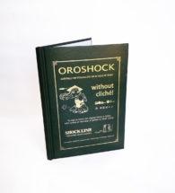 Copertina tesi personalizzata con sistema Oroshock (FC CREAMSD2 + lamina oro)