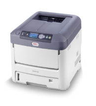 Stampante laser/led OKI A4 con il Toner Bianco (Pro7411WT)