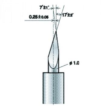 Lama da taglio ZECU17 15 per termoadesivi (PL ZECU17 15)