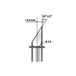 Lama da taglio ZECU31 00 con offset di 1.00 mm per cartoncino (PL ZECU31 00)