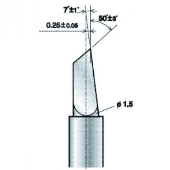 Lama da taglio ZECU50 25 per rifrangente (PL ZECU50 25)