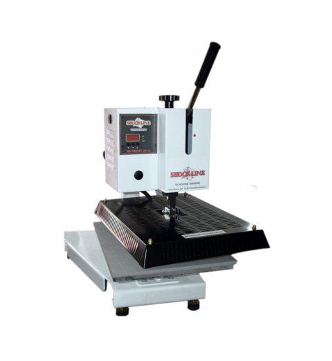 Termopressa manuale di Shock Line a piatto singolo (MA PREGI 35N1)