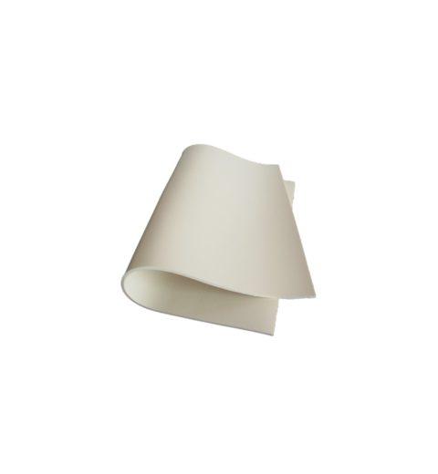 Stuoia silicone espanso bianco 4 mm (MA STUOI 02)